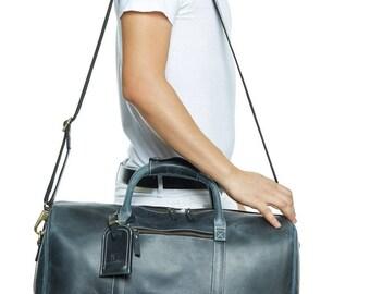 Gym Bag /Genuine Leather Travel Bag, Weekend bag, Leather Duffel Bag,Handbag,Cabin Travel Bag ,business bag, leather shoulder bag