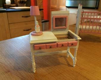 Vintage Miniature Nursery Set - 6 Pieces