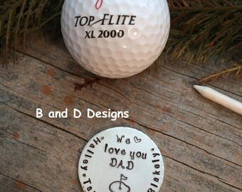 Father's Day! Golf markers for that special man in your life.