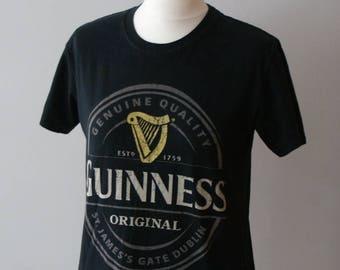 Official Guinness T-shirt, Guinness Beer T-shirt, Guinness Dublin T-shirt, Guinness Gildan T-shirt