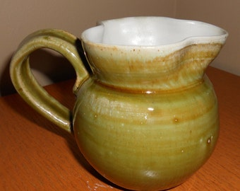 Clover Ceramic Mug, wheel thrown