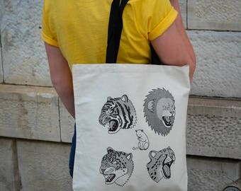 CATS || Tote Bag || 100% Recycled Cotton