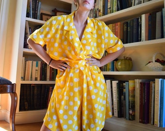 Yellow Polka Dotted Romper