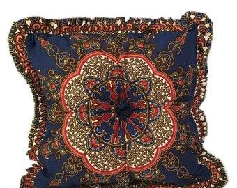 Moroccan Throw Pillow - Moroccan Print Decorative Pillow