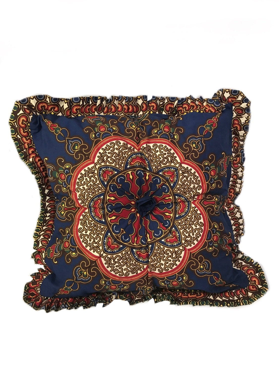 Throw Pillows Malum : Moroccan Throw Pillow Moroccan Print Decorative Pillow