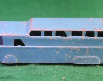 Vintage Die Cast Midgetoy Blue Doubledecker Bus