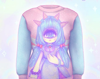 "Pink ""Pastel-Fairy"" Sweater"