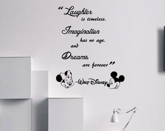 Disney Wall Decal | Etsy Good Ideas