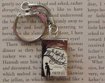 Classic Book Keychain, Necklace, or Brooche
