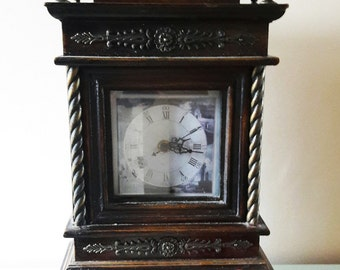 Large Vintage French Battery Operated Clock