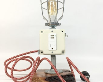 Antique Bretford Floor Lamp Tripod Industrial Vintage Light