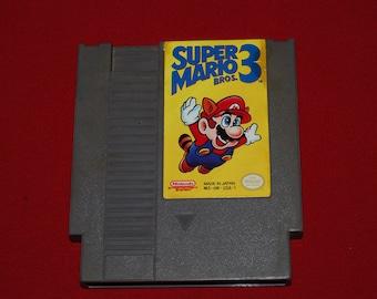 80s Super Mario Bros 3 NES Nintendo classic video game entertainment system retro Brothers gamer 90s