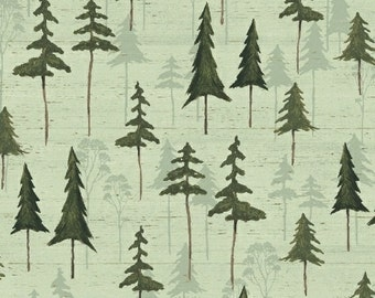 Tree Fabric, Forest Fabric - Wildwood by Windham Fabric  41123 3 - Priced by half yard