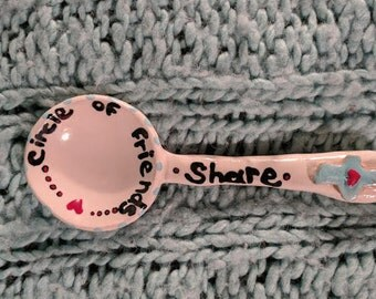 Hand Sculpted Serving Spoon