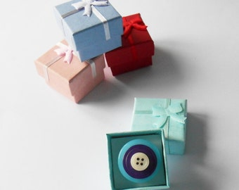 Ring Jewellery Box, Small Cube Packaging, Wedding Favor Containers, Tiny Ring Gift Wrap, Christmas Gift, Proposal Wrapping, Lover Present