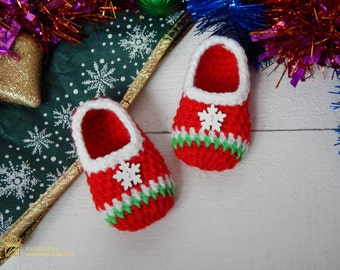 Christmas baby announcement,Christmas birth announcement,Newborn Santa Slippers,Newborn Santa Shoes,Christmas Baby Booties,Christmas boots
