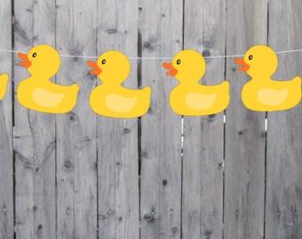 rubber duck banner etsy