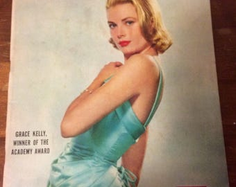 LIFE magazine. Grace Kelly cover. 1955.