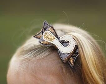 Maui Bow ~ Demi-God Bow ~ Magic Hook Bow ~ Moana Bow ~ Island God Bow ~ Polynesian Bow  ~ You're Welcome Bow ~ Maui Costume Bow ~ Island Bow
