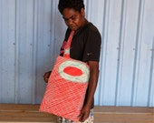 Tote bag - Fish trap design by Helen Lanyinwanga
