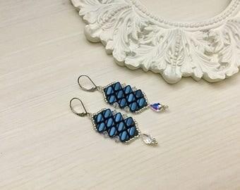 Reduced/Swarovski Beaded Earrings