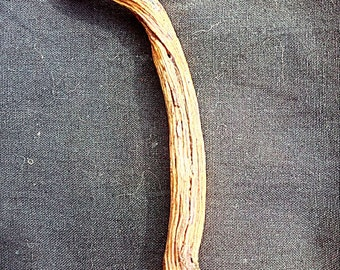 Pendant animal totem Snake in Chestnut wood
