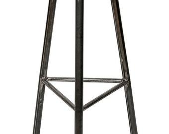 Trippie Cherry - Three Legged, Cherry Seat Bar Stool