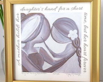 "Shop ""mother daughter gift"" in Art & Collectibles"