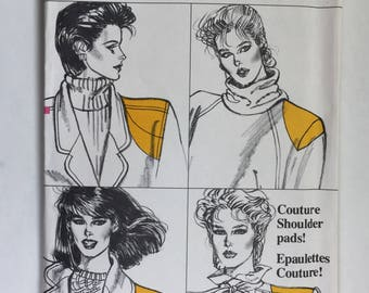 Vogue 817 Couture Shoulder Pads Pattern One Size
