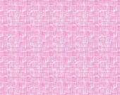 Bubblegum Pink Net Fabric, Dear Stella Life Aquatic Stella 370 Net,  Fishnet Ocean Quilt Fabric, Nautical Fabric, Beach Quilt Fabric, Cotton