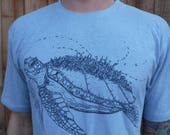 Mens Org. Cotton/Hemp Tee...