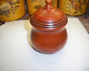 Wooden dish keepsake box