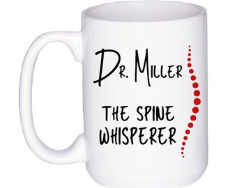 Gift for Chiropractor - Funny Doctor Gift - Personalized Mug for Chiropractor - Personalised Chiropractic Cup - Funny Mug for Chiropractor