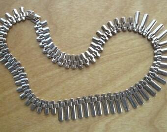 Art Deco Necklace - Fringe Art Moderne - 143