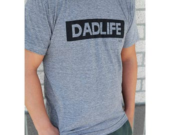 Dad Life Adult Shirt TShirt Dad T-Shirt Daddy Father Phrase Top Hip Stylish Dad Gift Father's Day