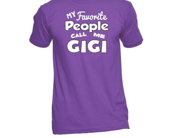 Gigi T-Shirt (Any Name) - Gigi Shirt - Grandma TShirt - Grandma Gift - Grandma To Be - Grandma T Shirt - New Grandma