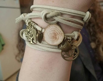 FOCUS Charm Wrap Diffuser Bracelet  // Custom Made FREE SHIPPING in the U.S.