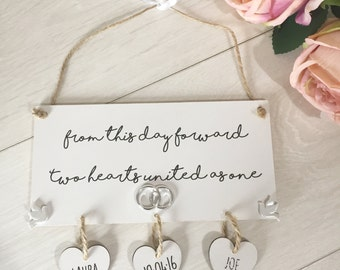 Wedding Gift Ideas Plaque Sign Unique Gifts