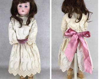 Antique Kestner Model 214 doll, bisque head doll, model 214, beautiful antique doll