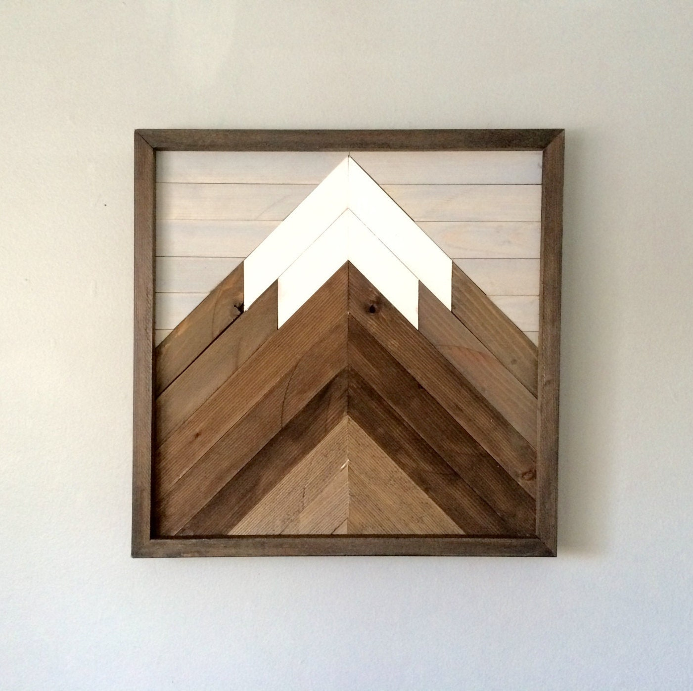 Reclaimed wooden wall art mountain scenegallerywall modern zoom amipublicfo Choice Image