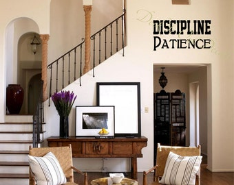 Patience and Discipline EDE00157