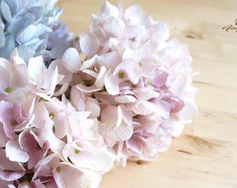 Vintage Style Pastel Pink Hydrangea – artificial flower – headpiece – bouquet – wedding – decoration – flower crown (FB0046-01)