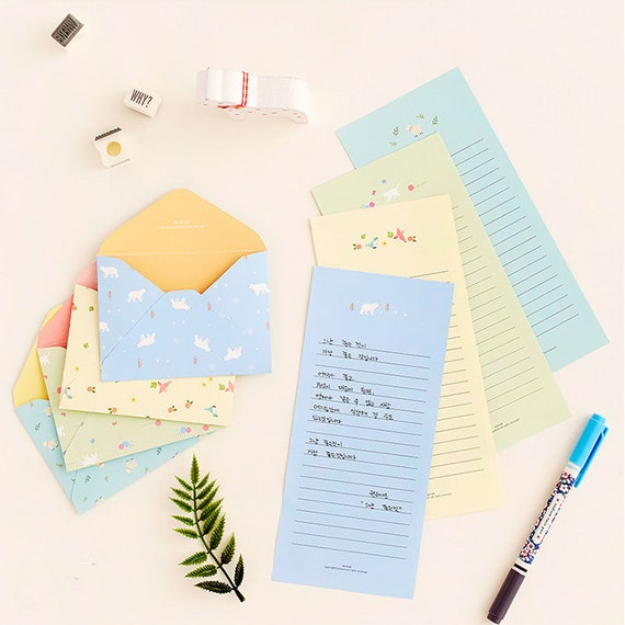writing paper and envelope sets Kraft paper envelopes and writing stationery paper letter set, yoption 50 pack old fashioned brown kraft paper envelopes and 56 sheet writing stationery paper, with 20 stickers (envelopes+ paper.