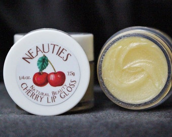 Natural Lip Gloss // Cherry Flavor // The World's Most Loved Lip Gloss! // Neauties Premium Lip Products