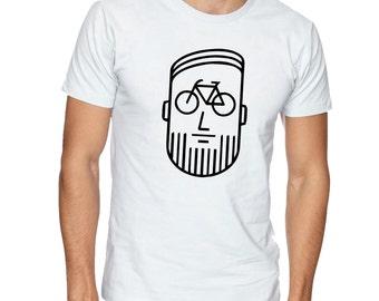 Cycling Shirt,Christmas gifts for men,husband,cyclists,biking t shirt,bicycle gift,bicycle print shirt, women bike shirt