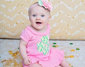 St. Patrick's Day Dress - St. Patrick's Day Outfit for Girls - Baby Dress - Toddler Dress -Saint Patrick's Day Dress -St. Paddy's Day Outfit