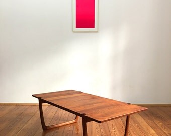 Mid century teak sofa table by Peter Hvidt and Orla Molgaard-Nielsen for France & son