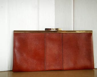 Clutch, Phillippe, Phillippe, Leather, Phillippe Clutch, Phillippe Purse, Leather Clutch, Vintage Purse