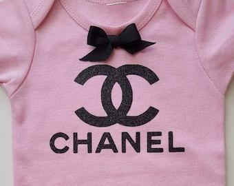 Fashion Baby Onesie, baby girl