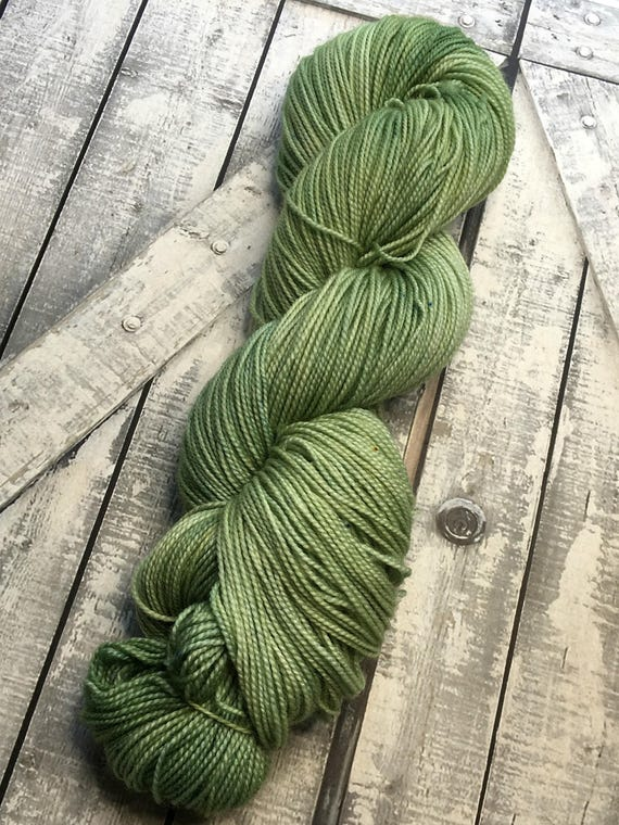 Sock Yarn  Parsley Sage Rosemary & Thyme,Hand Dyed Yarn,Indie Dyed Yarn,Fingering Weight,80/20 Superwash Merino Nylon,Toad Hollow Yarn,2 Ply